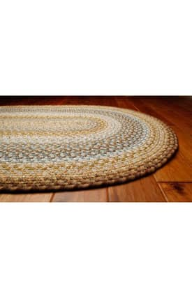 Homespice Decor Cotton Braided Cape Cod Rug
