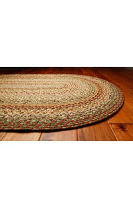 Homespice Decor Cotton Braided Fresco Rug