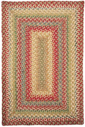 Homespice Decor Green World Braided AZ Rug