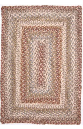 Homespice Decor Green World Braided NT Rug