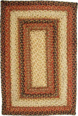 Homespice Decor Green World Braided RS Rug