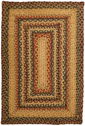 Homespice Decor Green World Braided TT Rug