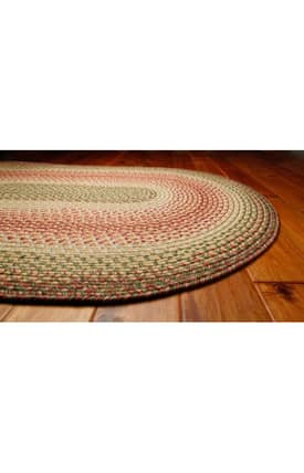 Homespice Decor Out-Durable Braided Outdoor Hyde Park Rug