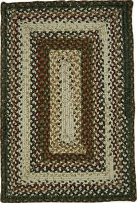 Homespice Decor Cotton Braided Mariners' Compass Rug