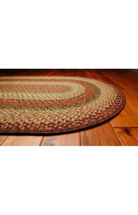 Homespice Decor Cotton Braided Newbury Rug