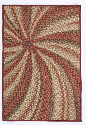 Homespice Decor Cotton Braided Pumpkin Pie Rug