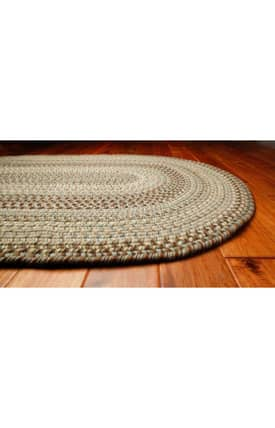 Homespice Decor Wool Braided Rugs Riviera Rug