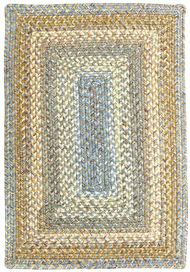 Homespice Decor Out-Durable Braided Seabreeze Outdoor Rug