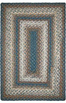 Homespice Decor Cotton Braided Smuggler's Cove Rug