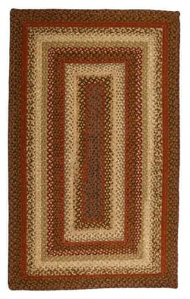 Homespice Decor Cotton Braided Spice Market Rug