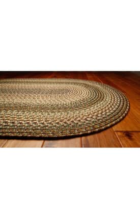 Homespice Decor Out-Durable Braided Savannah Rug