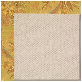 Capel Zoe White Wicker 5 Rug