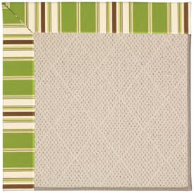 Capel Zoe White Wicker 9 Rug