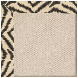Capel Zoe White Wicker 28 Rug
