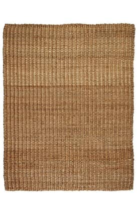 Anji Mountain Jute Hemp River Sand Rug
