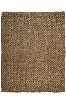 Anji Mountain Jute Perfect Diamond Rug