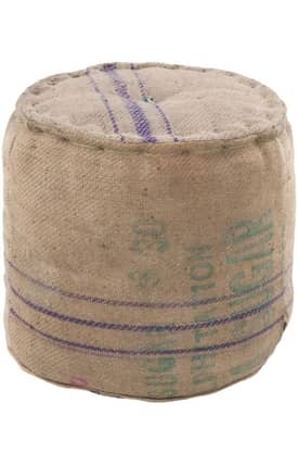 Surya Marrakesh Natural Fibers Pouf Furniture