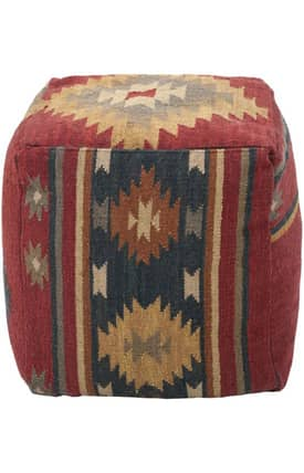 Surya Marrakesh Southwestern Pouf Furniture