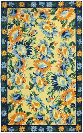 Homefires Rugs Homefires April Cornell Sunflower Provence Rug