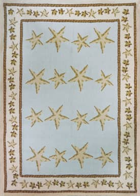 Homefires Rugs Homefires Audrey Jean Roberts Starfish Toss Rug