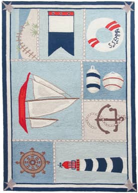Homefires Rugs Cynthia MacCollum Ship Shape Rug