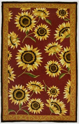 Homefires Rugs Homefires Jennifer Brinley Provence Sunflowers Rug