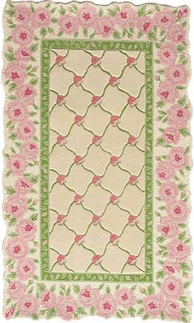 Homefires Rugs Homefires Paul Brent Rose Garland Rug