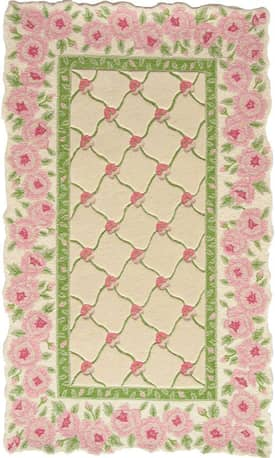 Homefires Rugs Paul Brent Rose Garland Rug