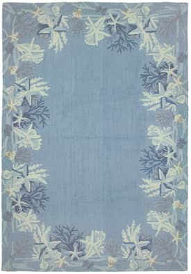 Homefires Rugs Homefires Paul Brent Sea Star Blue Rug