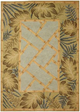 Homefires Rugs Homefires Cynthia Mac Collum Tropical Palms & Bamboo Rug