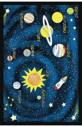 Istanbul Fun Time Outer Space Rug