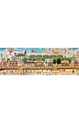 Istanbul New York City Collection Coney Island 2 Rug