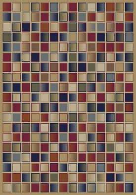 Istanbul Jewel Checkerboard Rug