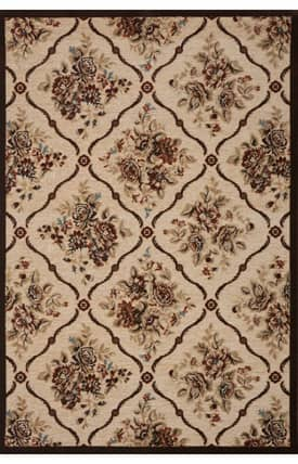 Concord Global Milano Rose Trellis Rug