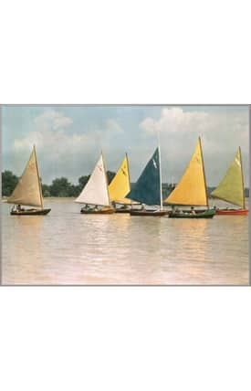 Concord Global National Geographic Photographic Sailboats Rug