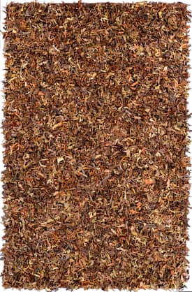 Rugs USA Leather Shag Modern Style Rug