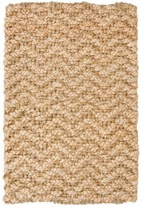 Classic Home Braided Jute Herringbone Rug