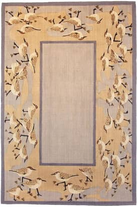 Classic Home Cabin Sandpipers Rug
