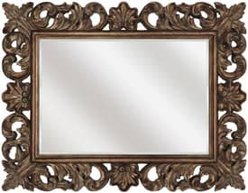 Paragon Traditional Scrolled Antique Gold Mirror