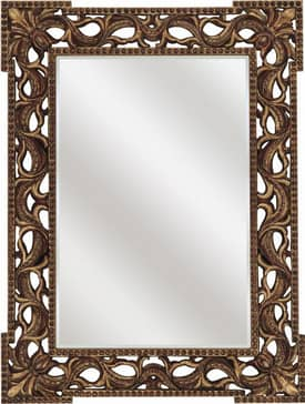 Paragon Ornate Rococo Antique Gold Mirror