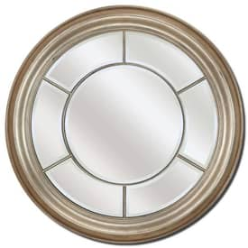 Paragon Contemporary Round Silver Mirror