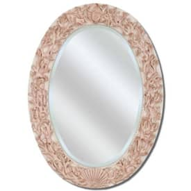 Paragon Casual Oval Ivory Shell Wall Mirror