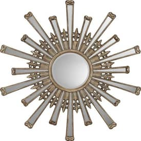 Paragon Sunburst Retro Sunburst Wall Mirror