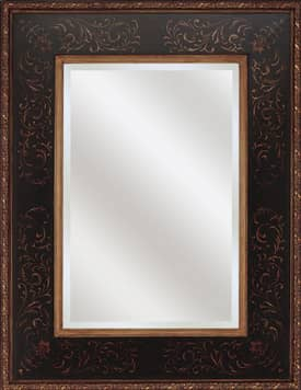 Paragon Traditional Aged Wood Finish Normandy Mirror
