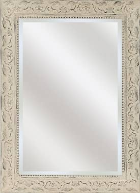 Paragon Contemporary Aged Ivory Embellished Mirror