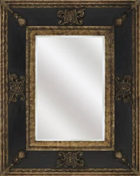 Paragon Traditional Gold Wood Finish Monarch Mirror