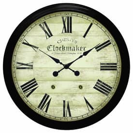 Infinity Instruments Traditional Large Metal Chester Clockmaker