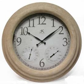 Infinity Instruments Indoor & Outdoor Indoor & Outdoor Slate Clock