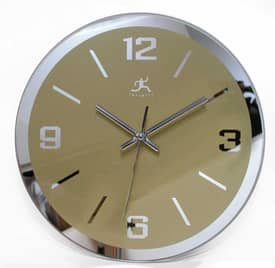 Infinity Instruments Contemporary The Gazer Wall Clock