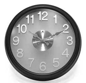 Infinity Instruments Contemporary The Onyx Wall Clock